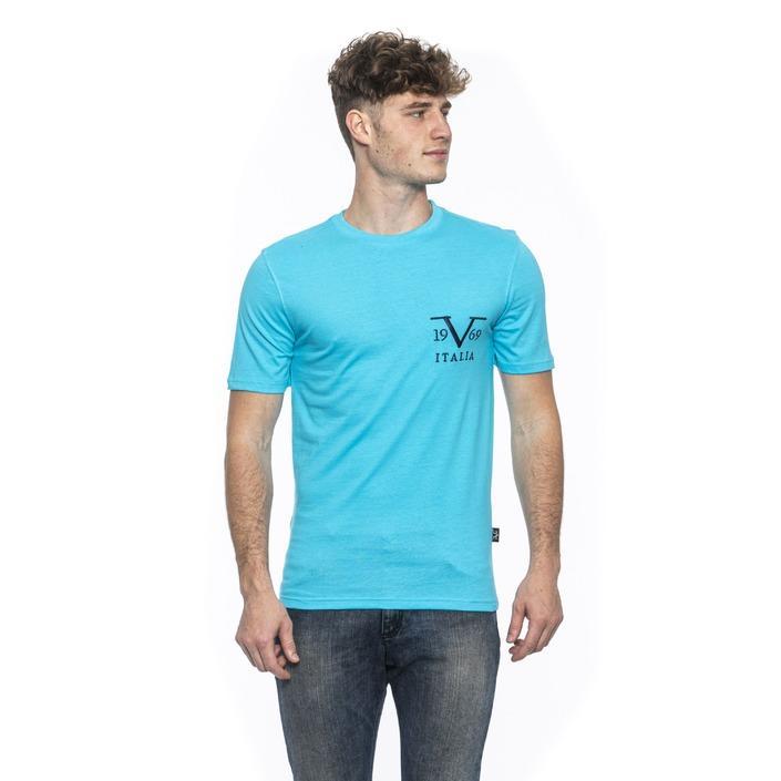 19v69 Italia Men's T-Shirt Blue 185307 - blue M
