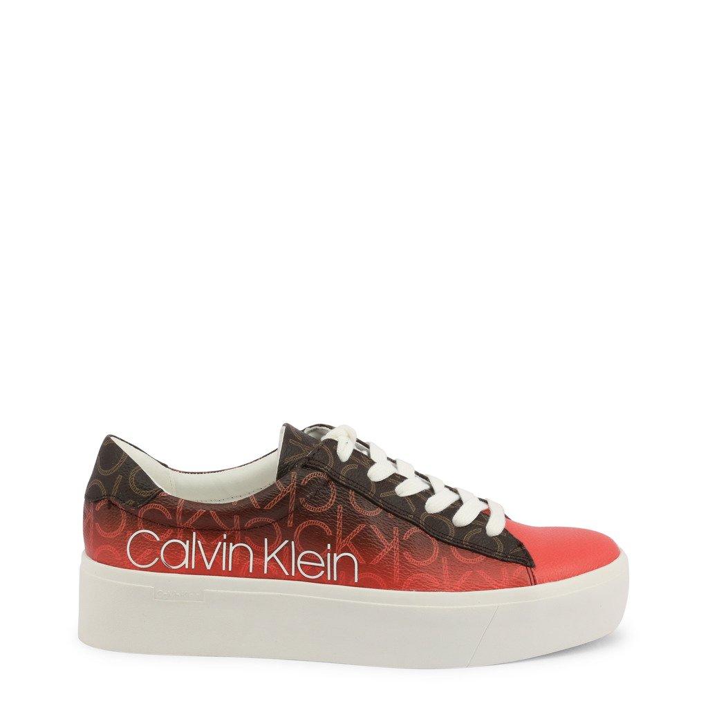 Calvin Klein Women's Janika Sneakers Brown 331636 - brown EU 39