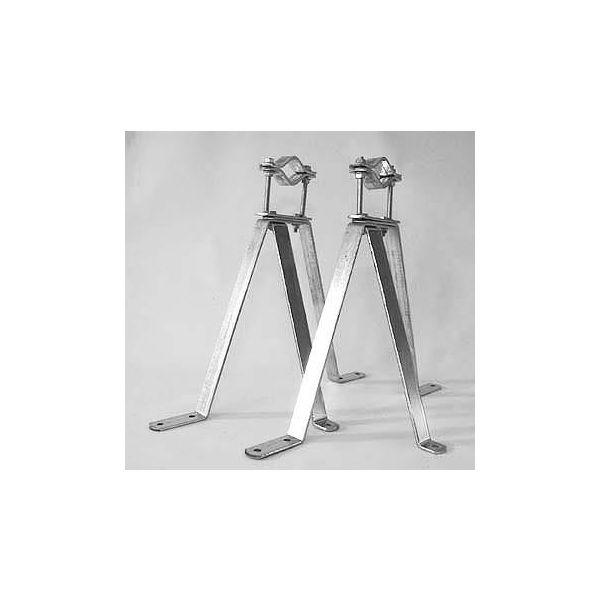 Televes 240351 Seinäkiinnike tehokkaammalle antennille ja satelliittiantennille 50–76 mm, 35 cm