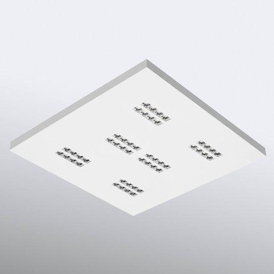 Declan II - kvadratisk LED-taklampe 4 000 K