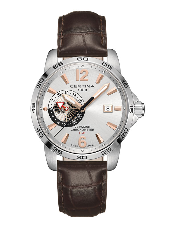 Certina DS Podium GMT COSC Chronometer C034.455.16.037.01