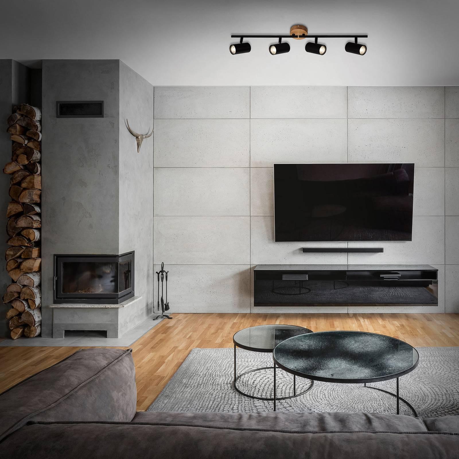 Wood & Style 2920 kattospotti, 4-lamppuinen
