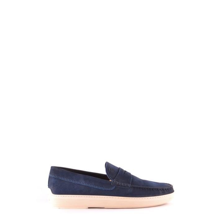 Tod`s Men's Loafer Blue 166286 - blue 6.5