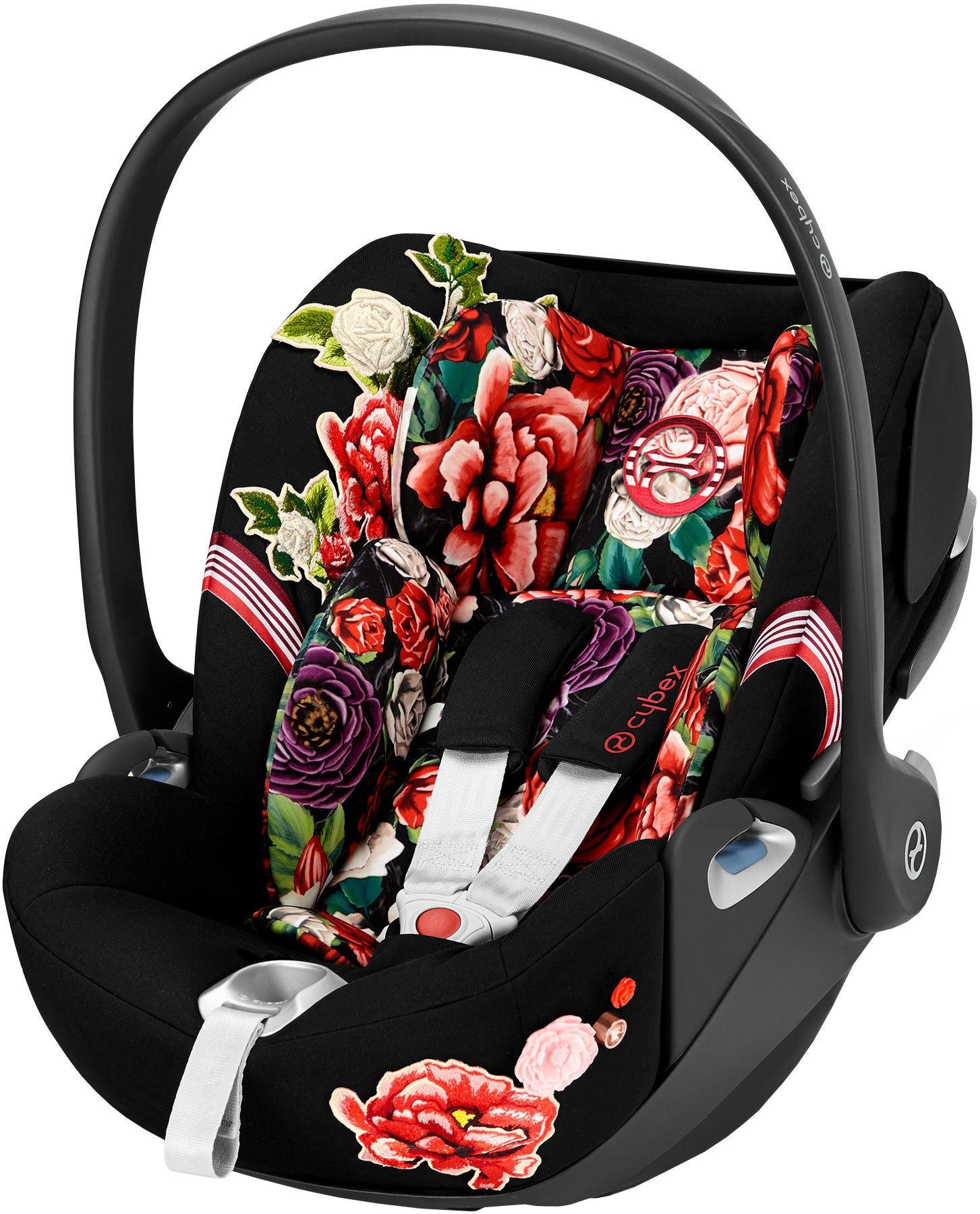Cybex Cloud Z i-Size Babyskydd, Spring Blossom Dark