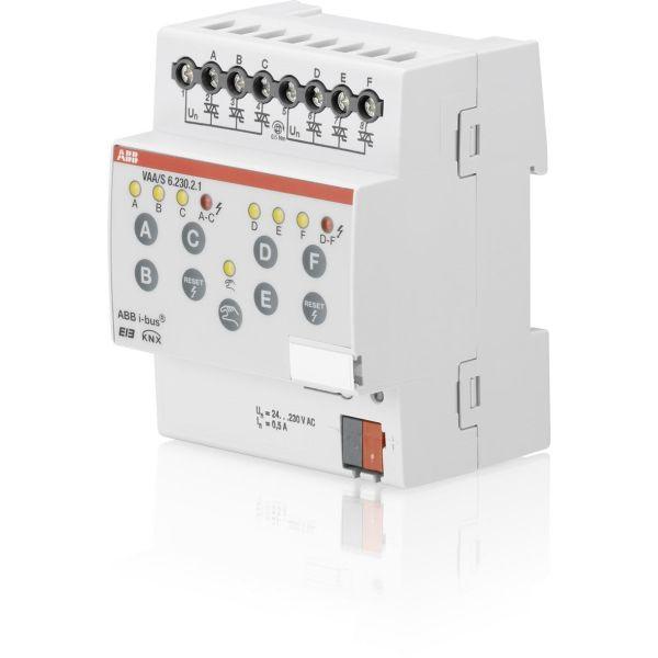 ABB 2CDG110117R0011 Lähtöyksikkö lämmitin 230 V AC 6 lähtöä
