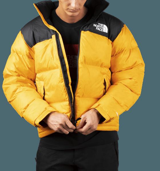 The North Face M Retro Nuptse Jkt Jackor ORANGE