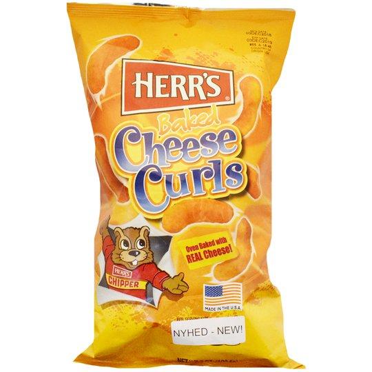 Ostbågar Cheesy Curls - 59% rabatt