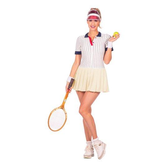 Tennisspelare Retro Dam Maskeraddräkt - 36