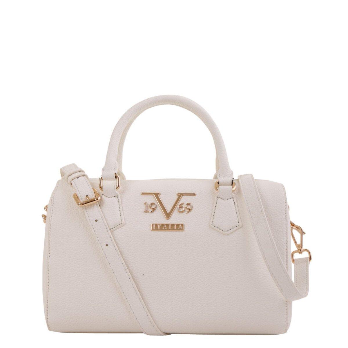 19v69 Italia Women's Handbag Various Colours 319009 - white UNICA