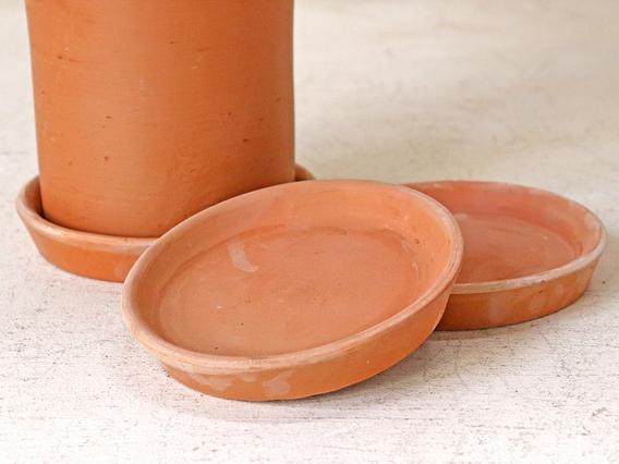 Terracotta Saucer - 14.5CM