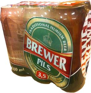 Öl Brewer Pils 3,5% - 70% rabatt