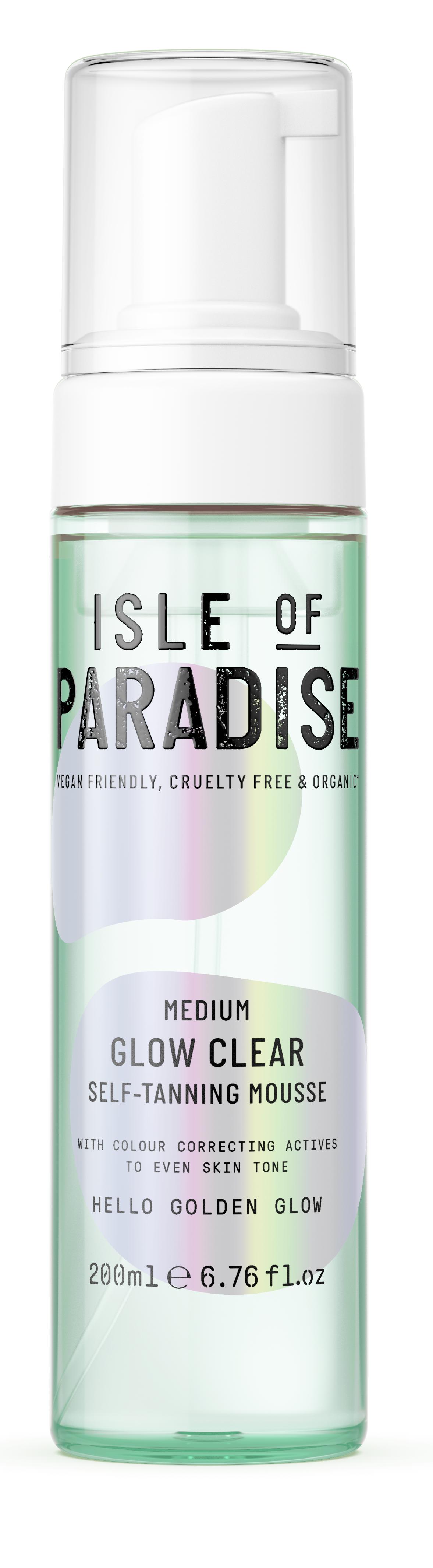 Isle of Paradise - Medium Glow Clear Self Tanning Mousse 200 ml