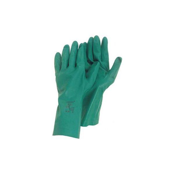 Ansell 79-340 Hanske Kjemisk beskyttelse, nitril, grønn Str. 7,5–8