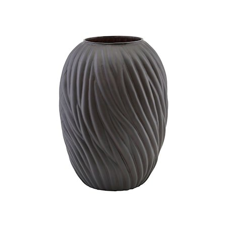 Noa Vase Mørkebrun 36,5cm