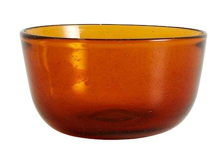 Airy Skål Glass Amber