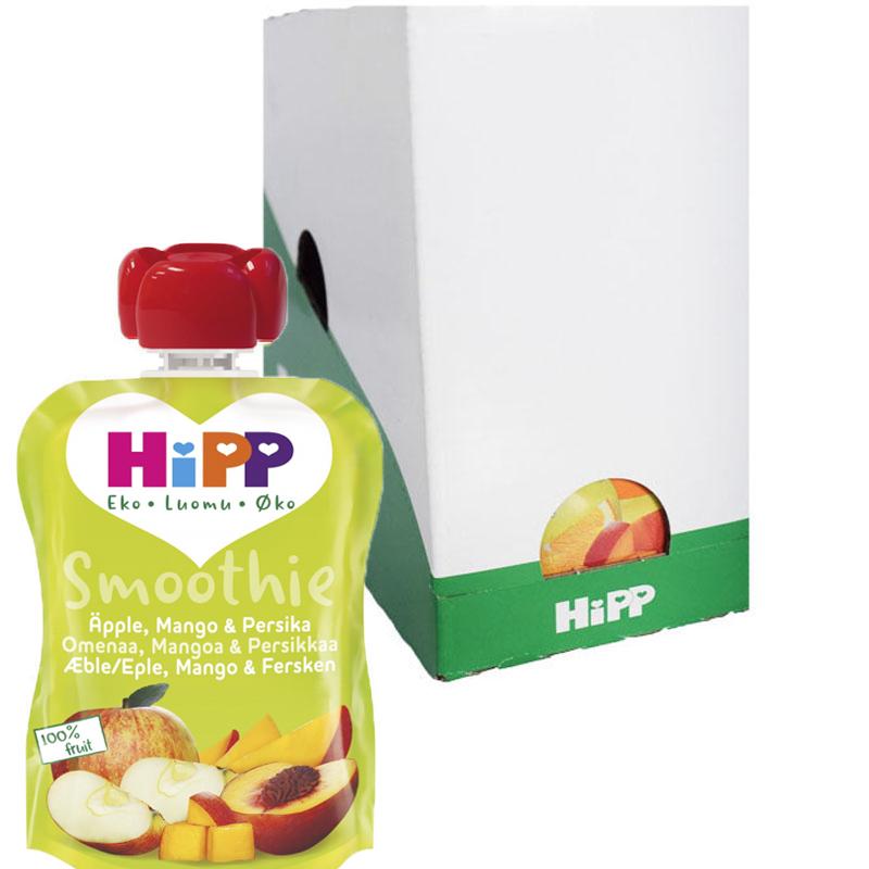 Hel Låda Smoothie Äpple Mango & Persika 6 x 90g - 27% rabatt