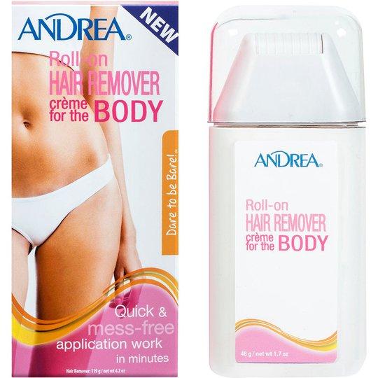 Roll-on Hair Remover Creme Body, 119 g Andrea Karvanpoisto