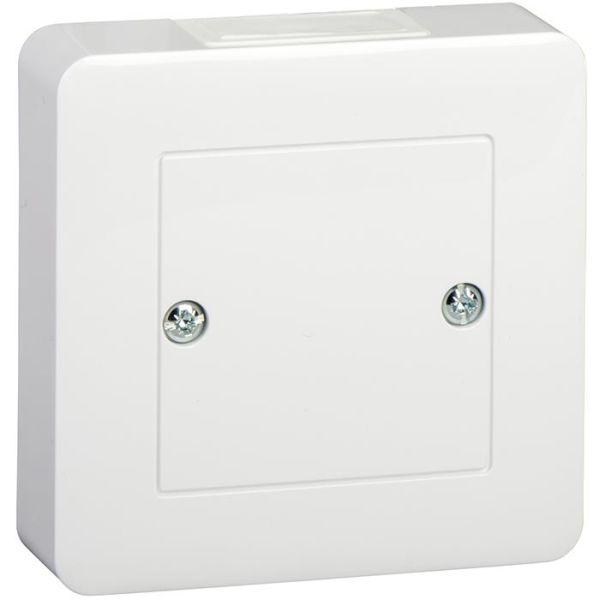 Schneider Electric Exxact WDE002318 Liitäntärasia valkoinen