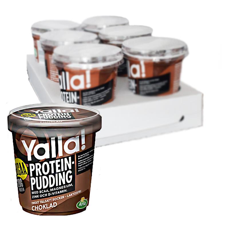 Proteinpudding Choklad 6-pack - 42% rabatt