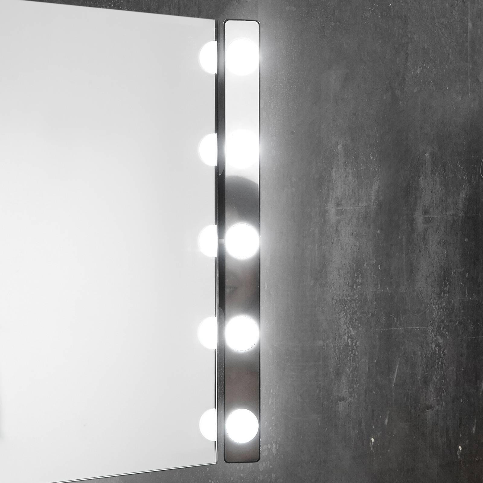 LED-speillampe Hollywood, 60 cm 5 lyskilder hvit