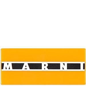 Marni Logo Brosch Gul one size