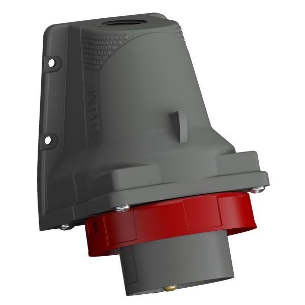 ABB 2CMA101206R1000 Vegginntak IP67 Rød, 32 A, 5-polet, 109 mm
