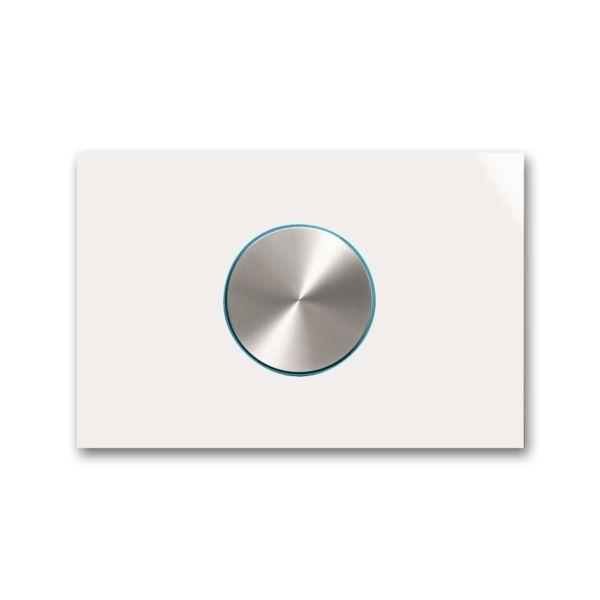 ABB Busch-priOn 6310-0-0117 Kiertonuppi valkoinen