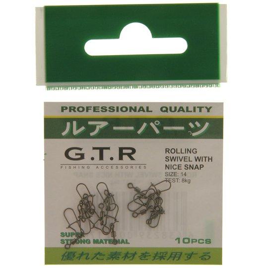 G.T.R lekande med beteslås