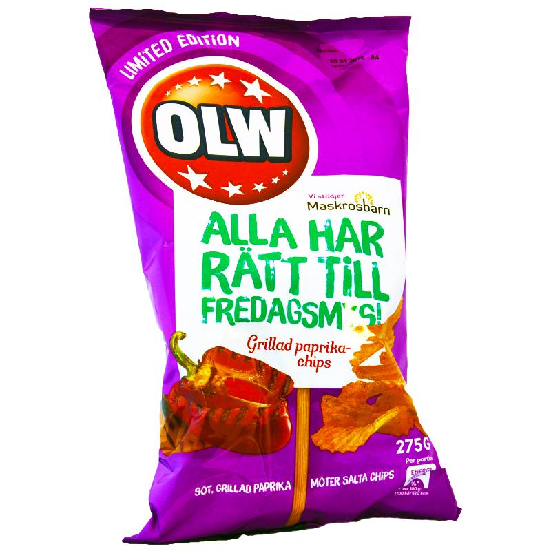 Chips Grilled Paprika - 78% rabatt