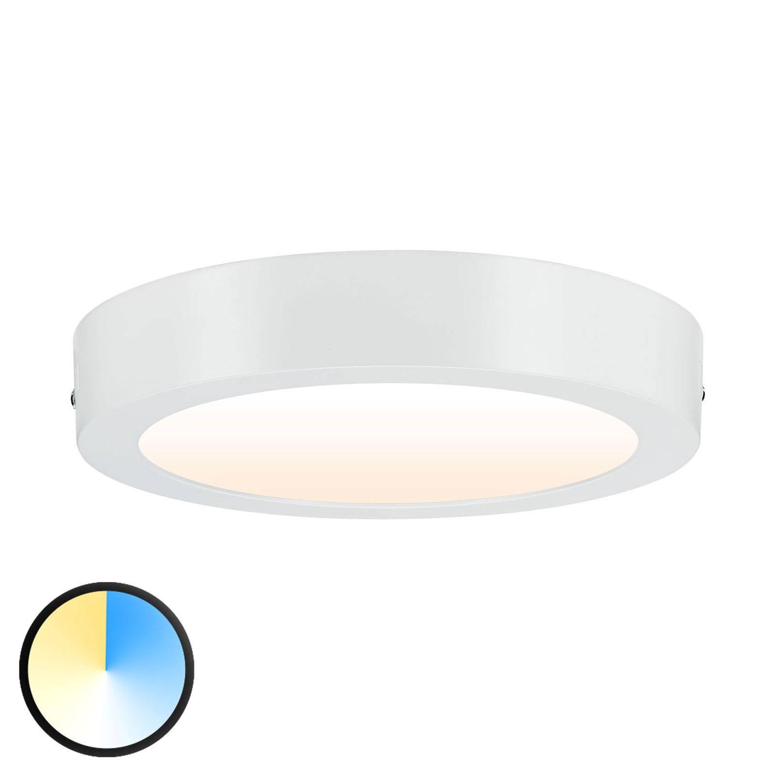 Paulmann Carpo LED-taklampe rund hvit 22,5 cm