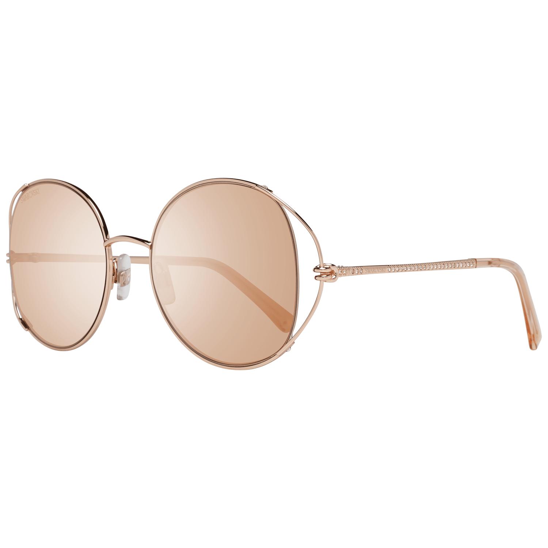 Swarovski Women's Sunglasses Rose Gold SK0230 5428G