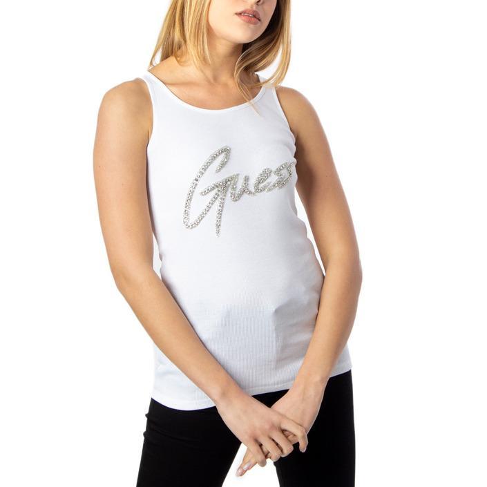 Guess Women's Top White 170537 - white L