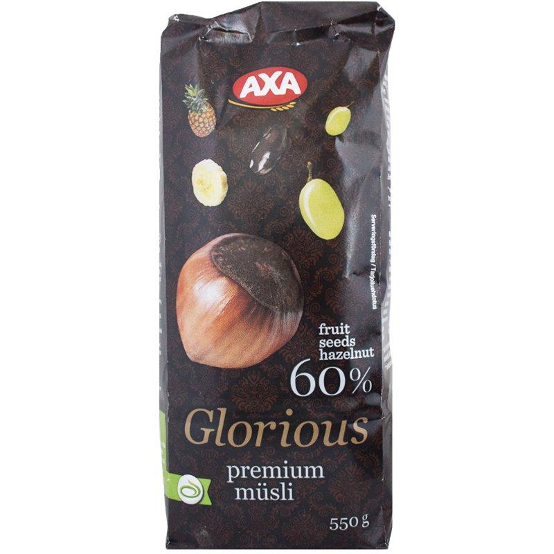 Glorious Premium Mysli 550g - 29% alennus