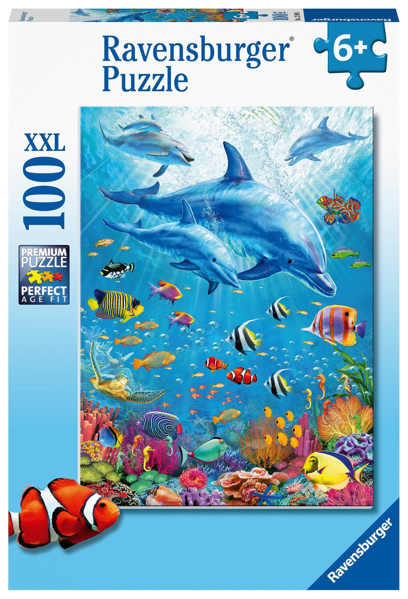 Ravensburger Pussel Delfiner 100 Bitar