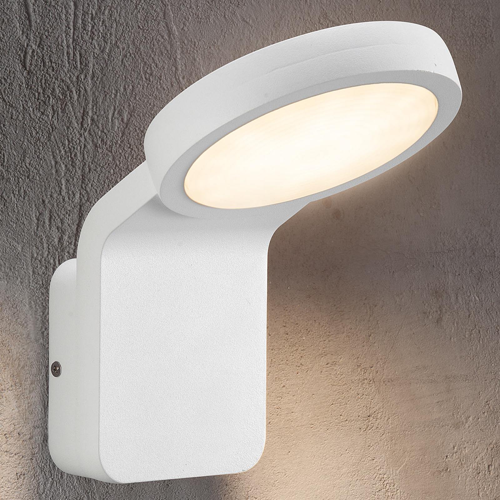 Tehokas LED-ulkoseinävalaisin Marina, valkoinen