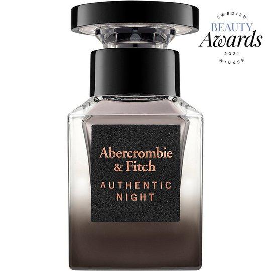 Authentic Night Men, 30 ml Abercrombie & Fitch Hajuvedet