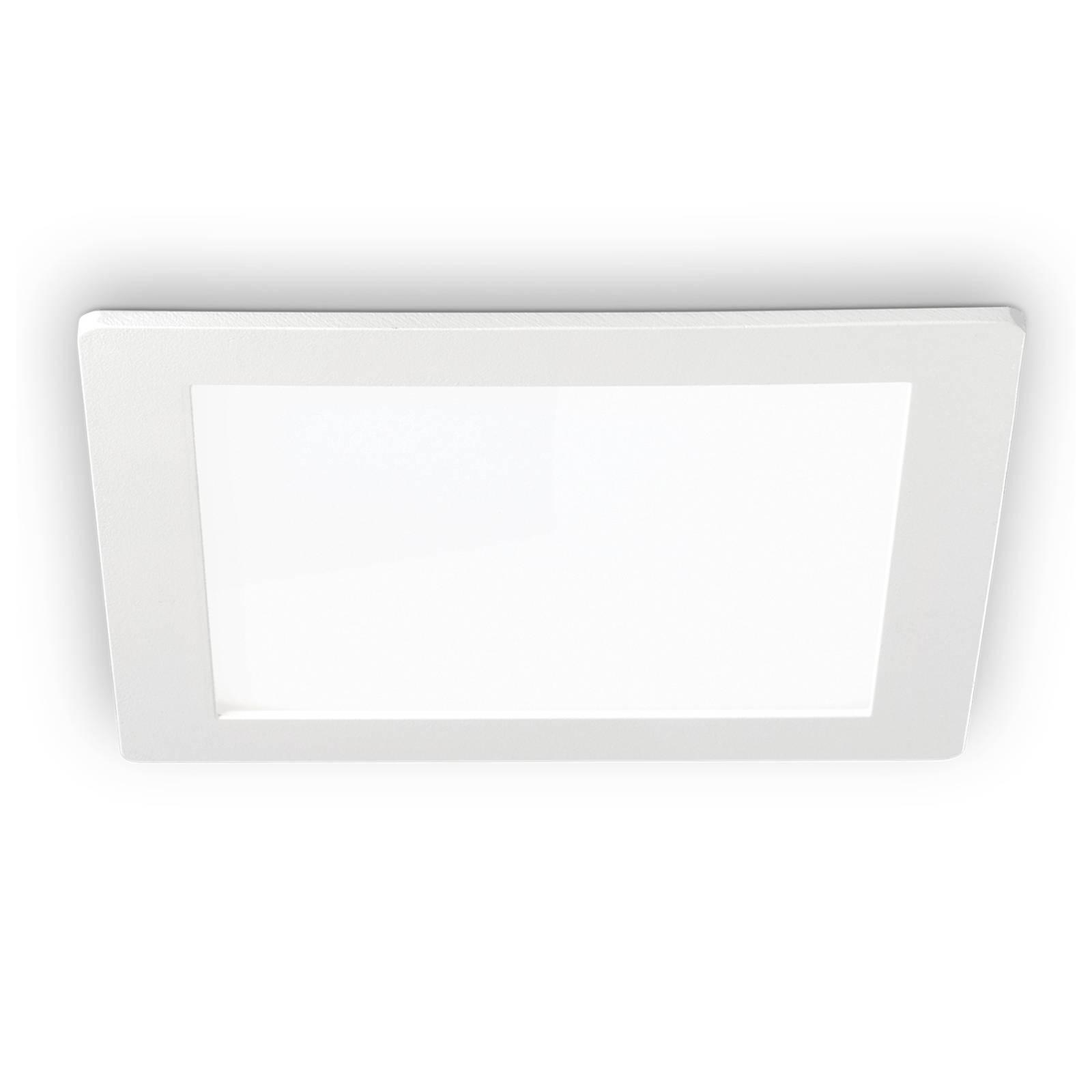 LED-kattouppovalaisin Groove square 22,7 x 22,7 cm