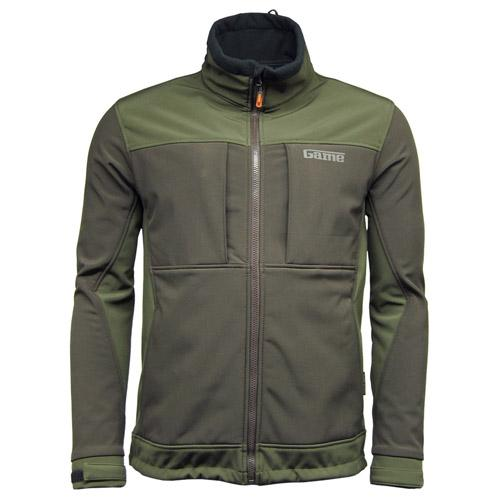 Game Technical Apparel Unisex Viper Softshell Jacket Green HB210 - S