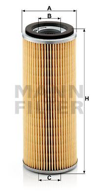 Öljynsuodatin MANN-FILTER H 1076