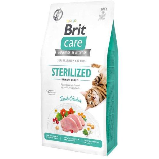 Brit Care Cat Grain Free Sterilized Urinary Health (7 kg)