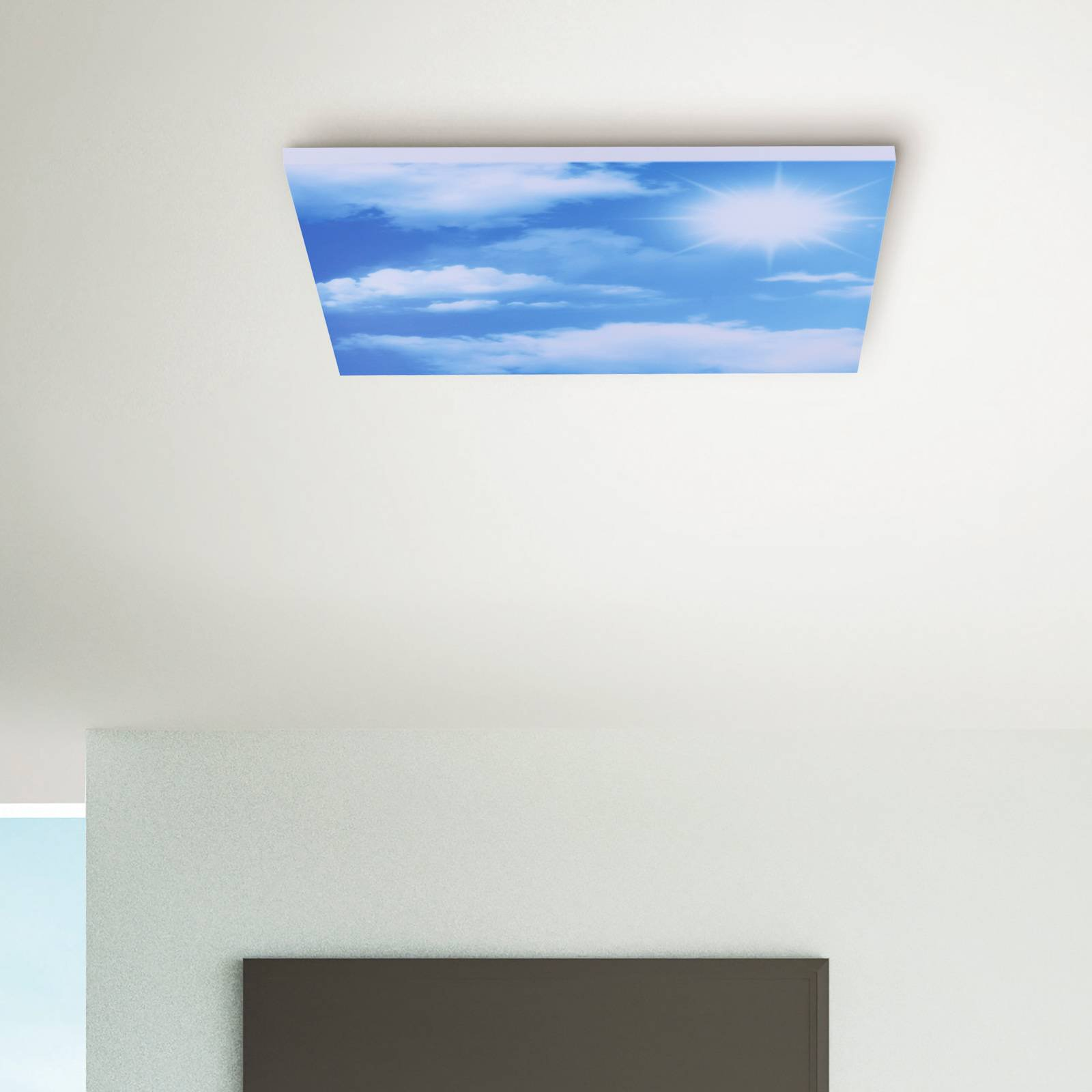 Cloud LED-taklampe, tunable white, 59,5 cm