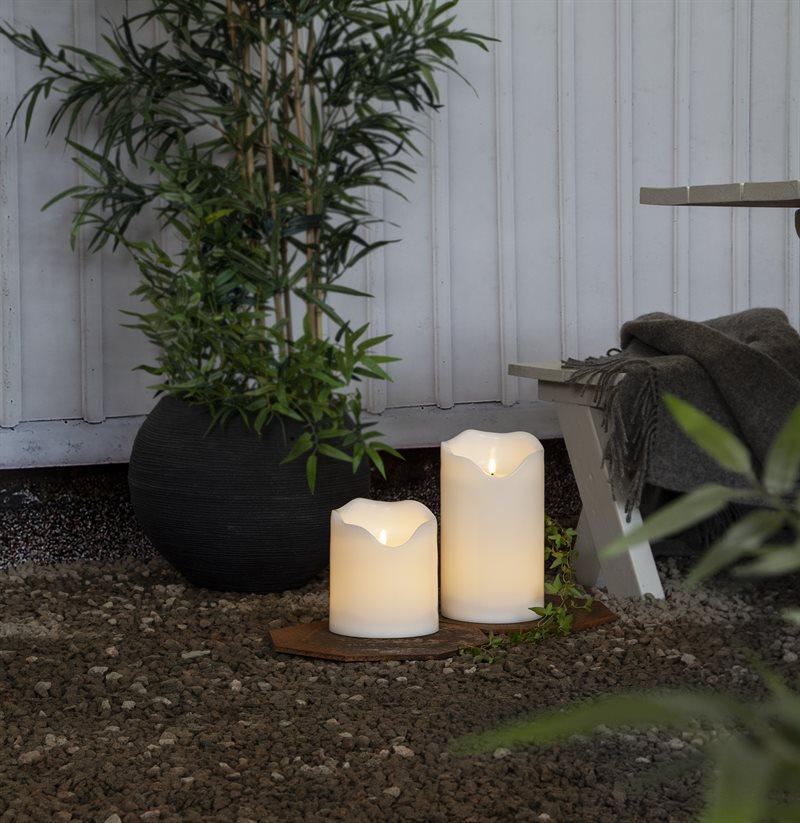 LED-pöytäkynttilä 30 cm Flamme