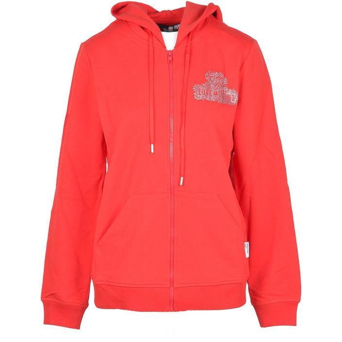 Love Moschino Women's Sweatshirt Red 218249 - red 40