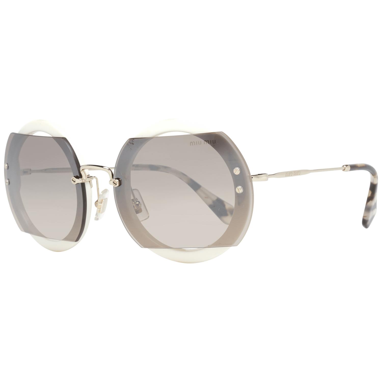 Miu Miu Women's Sunglasses White MU06SS 63VAG4P0