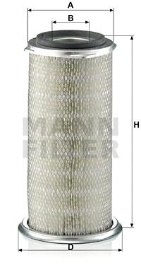Ilmansuodatin MANN-FILTER C 18 267