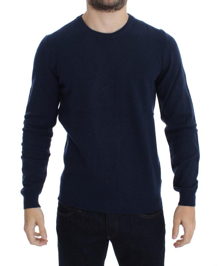 Costume National Men's Wool Crewneck Pullover Sweater Blue SIG17805 - IT52 | L