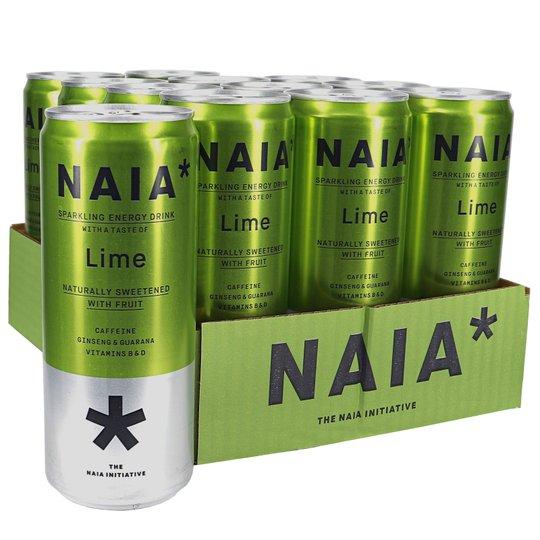 Kolsyrad Energidryck Lime 12-pack - 35% rabatt
