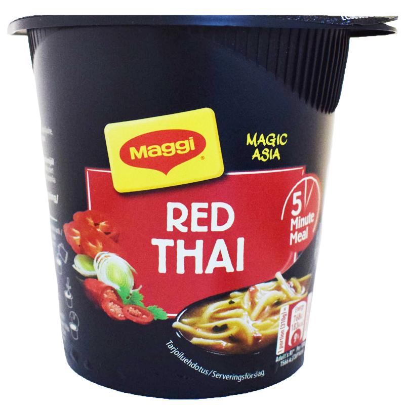 Nudlar Red Thai - 4% rabatt