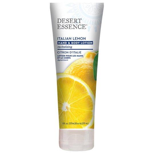 Desert Essence Italian Lemon Hand & Body Lotion, 237 ml