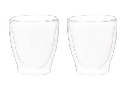 Vattenglas Double Walled 20cl 2st